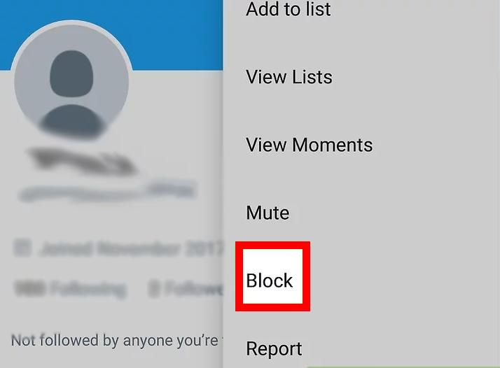Block option
