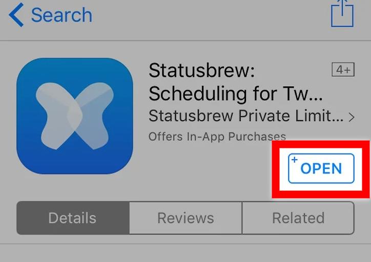 Open Statusbrew