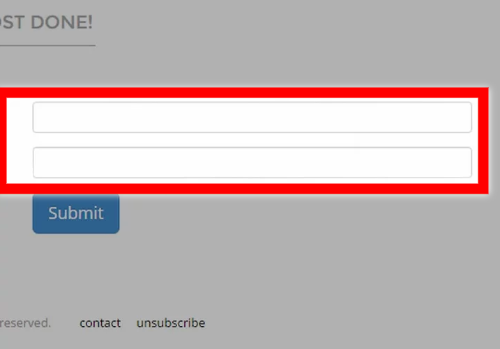 Type your email address