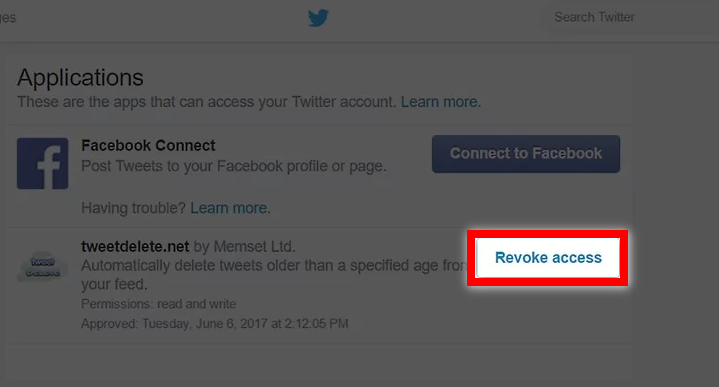 revoke access