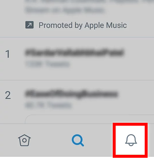 Check your notifications