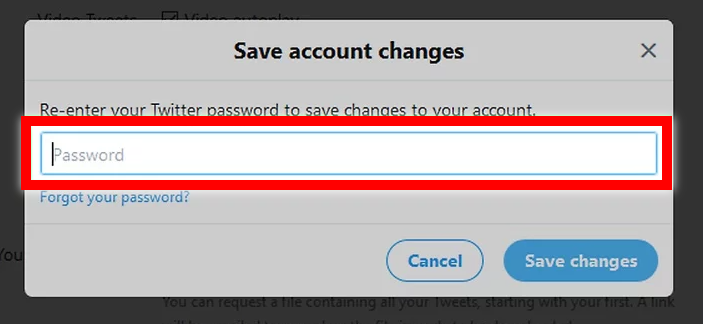 Enter your password when prompted