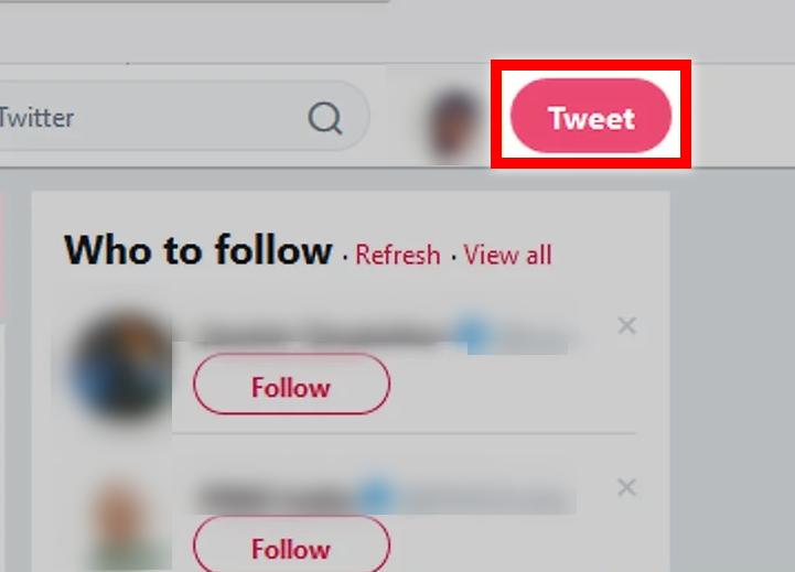 Select tweet